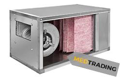 horeca luchttoevoerinstallatie met F7 filter